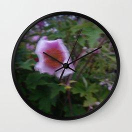 blurred Wall Clock