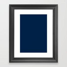 Oxford Blue Framed Art Print