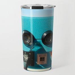Beach Viewer Binoculars Travel Mug