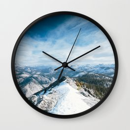 Clouds Rest Wall Clock