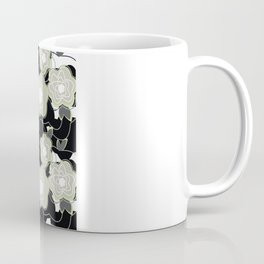 Mysterious Night - Flowers by SewMoni Coffee Mug