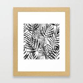 Black Tropics Framed Art Print