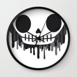Painters skull Wall Clock