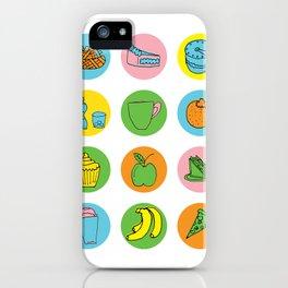 Lunch Time Menu iPhone Case