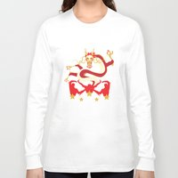 pacific rim Long Sleeve T-shirts featuring Pacific Rim: Crimson Typhoon by MNM Studios