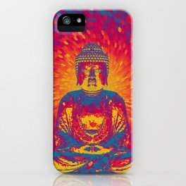 Crystal Buddha iPhone Case