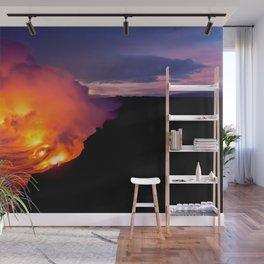 Sea of Flames Wall Mural