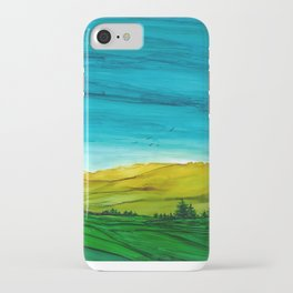 Landscape, Alcohol Ink iPhone Case