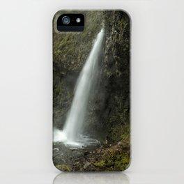 Upper Latourell Falls, No. 2 iPhone Case