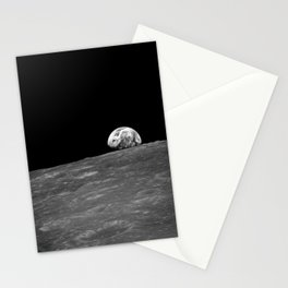 The first photograph Earthrise during Apollo 8. Stationery Cards