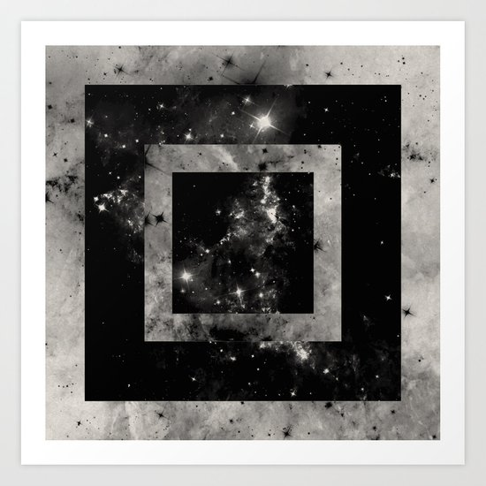 Opposite Space Art Print