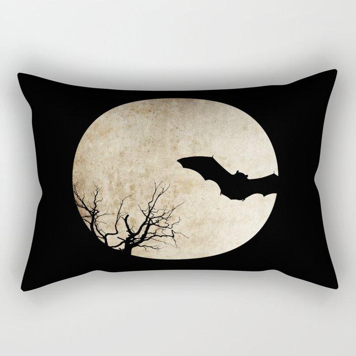 Bat night Rectangular Pillow