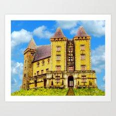 The Castle of Pau Art Print