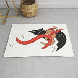 Jingle Bat Rug