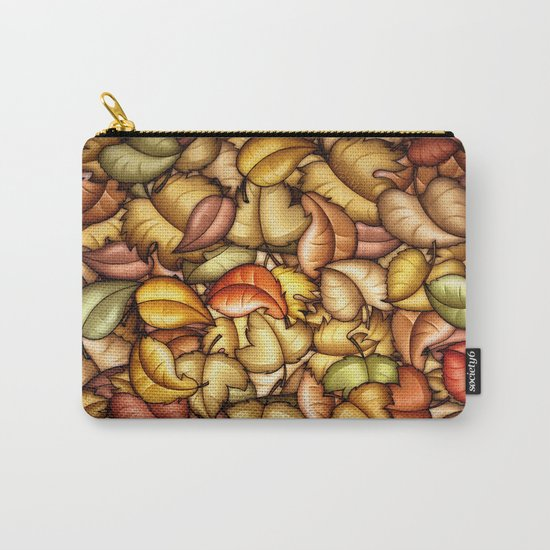 Autumn Is Falling Carry-All Pouch