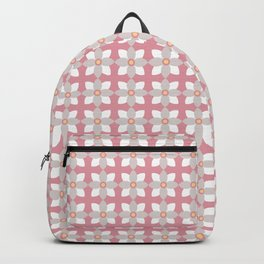 Tiny Daisies In The Pink Backpack