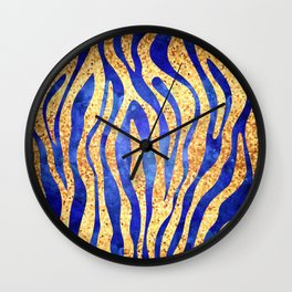 Mosaic Stripes Wall Clock