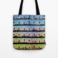 superhero Tote Bags featuring Superhero Kids by Andy Fairhurst Art