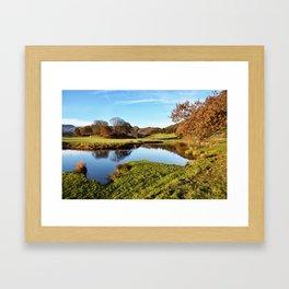 River Brathay Reflections Framed Art Print
