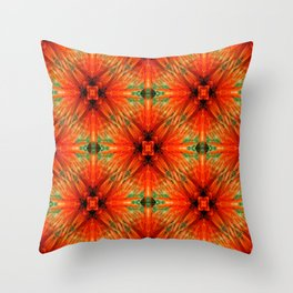 Spiked Plaid... Throw Pillow