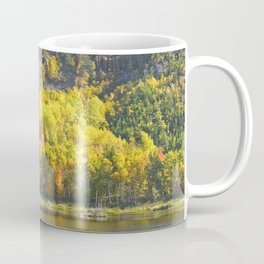 Fall On Beaver Dam Pond Acadia National Park Maine Coffee Mug