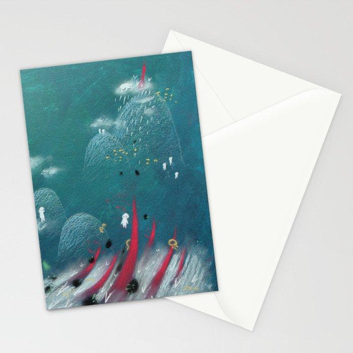Let Me Float Stationery Cards