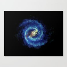 The Milky Way Galaxy - Painting Style Canvas Print