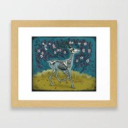 Dead blossom Framed Art Print