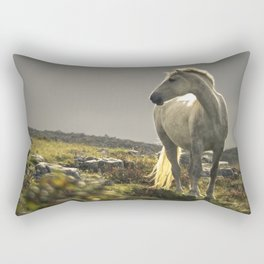 Sunset, Fanore, County Clare Rectangular Pillow