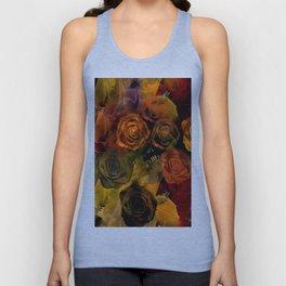 Autumn Roses Unisex Tank Top