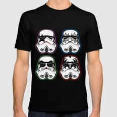 Kiss Troopers Mens Fitted Tee Black 2X-LARGE
