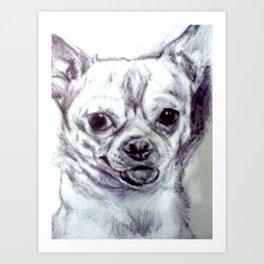 Cute Doggy Art Print