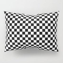 schwarz weiß kariert Pillow Sham