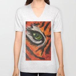 Eye of the Tiger Unisex V-Neck