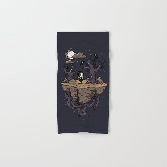 Dark Wood Hand & Bath Towel