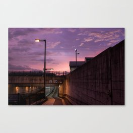 Anime Aesthetic Canvas Print