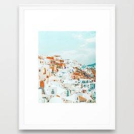 Travelers    #photography #greece Framed Art Print