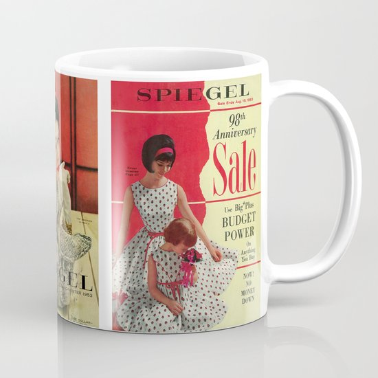 1963 - 98th Anniversary Sale -  Summer Catalog Cover Mug
