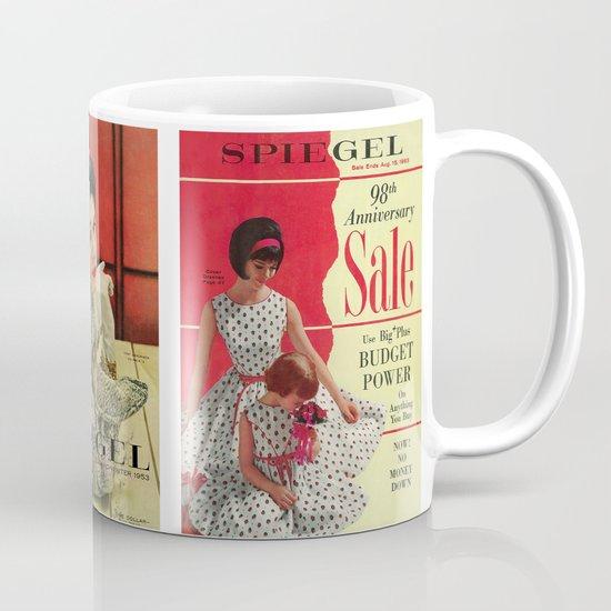 1963 - 98th Anniversary Sale -  Summer Catalog Cover Coffee Mug
