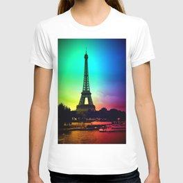 paris Colorful T-shirt