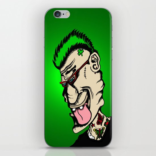 No Part Time Punk iPhone & iPod Skin