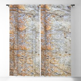 Rocky Rust Divide // Rock Formation Textured Background Accent Decoration Blackout Curtain
