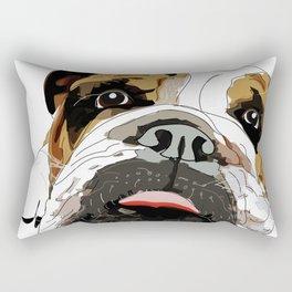 Bitch Please.  I'm Fabulous.  English Bulldog. Rectangular Pillow