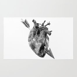 Wounded Heart Rug