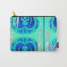 Tracy Porter / Roxy Attic: Blue Spades Carry-All Pouch
