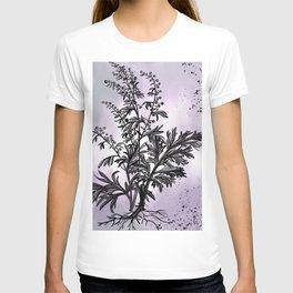 Wormwood Botanical Illustration T-shirt