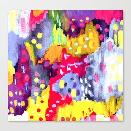 Painted Party Canvas Print