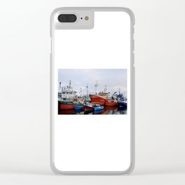 Ship me to Ireland Clear iPhone Case
