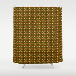 Fall Time Coffee (Pattern) Shower Curtain