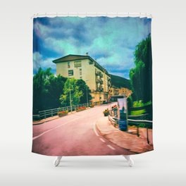 Of All The Paths You Take In Life Make Sure That Few of Them Are Dirt Shower Curtain